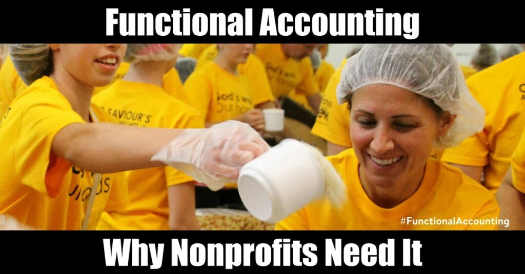 Functional Accounting: Why Nonprofits Need It - araize.com