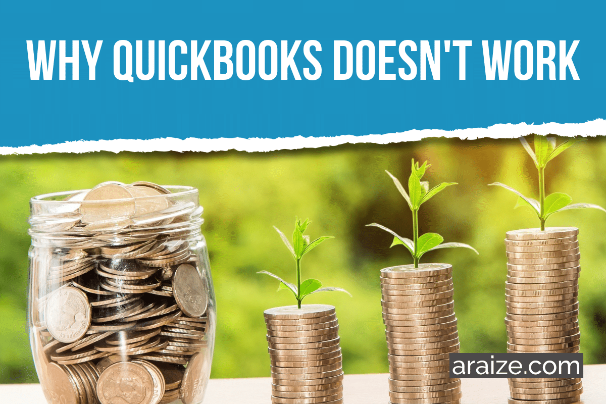 Why QuickBooks Won't Work for Fundraising Donor Management - araize.com