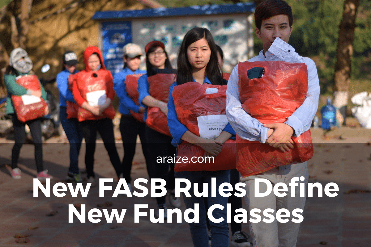 New FASB Rules Define New Nonprofit Fund Classes