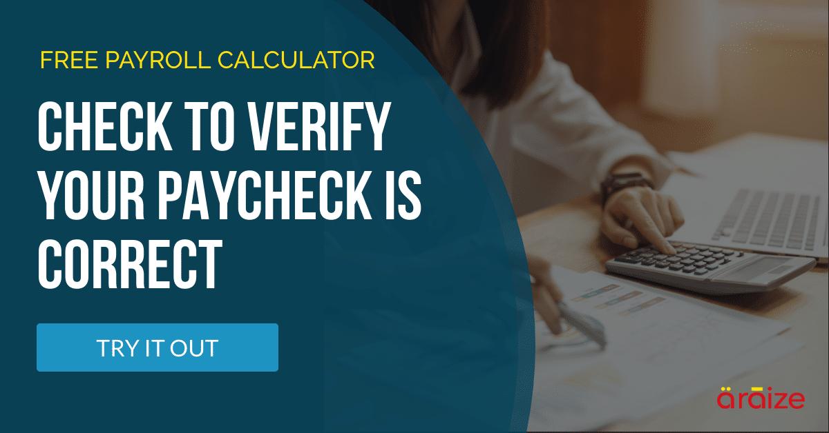 Free Payroll Calculator - araize.com