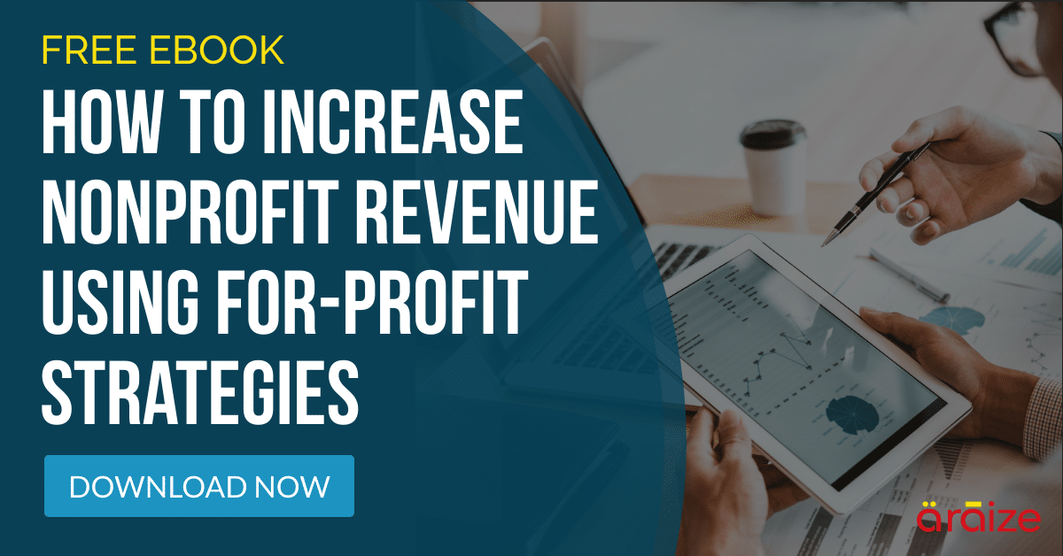 Best Ways To Increase Nonprofit Sustainable Revenue - Free Ebook - araize.com