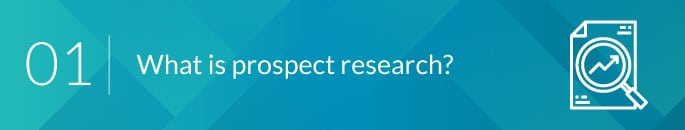 What is donor prospect research? - araize.com