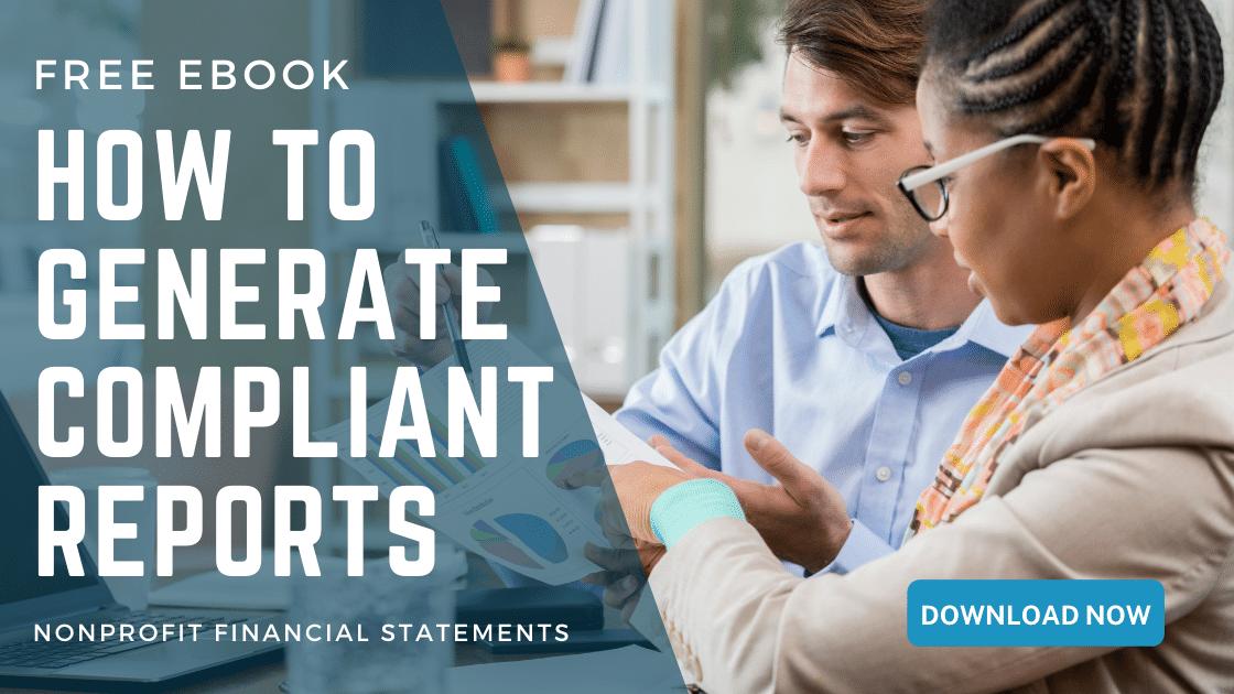 How to Generate Compliant Nonprofit Reports - Free Ebook - araize.com